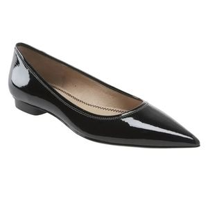 BP Patent Leather Catty Pointy Flat